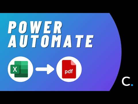 How to Convert an Excel Spreadsheet to PDF in Power Automate and Logic Apps