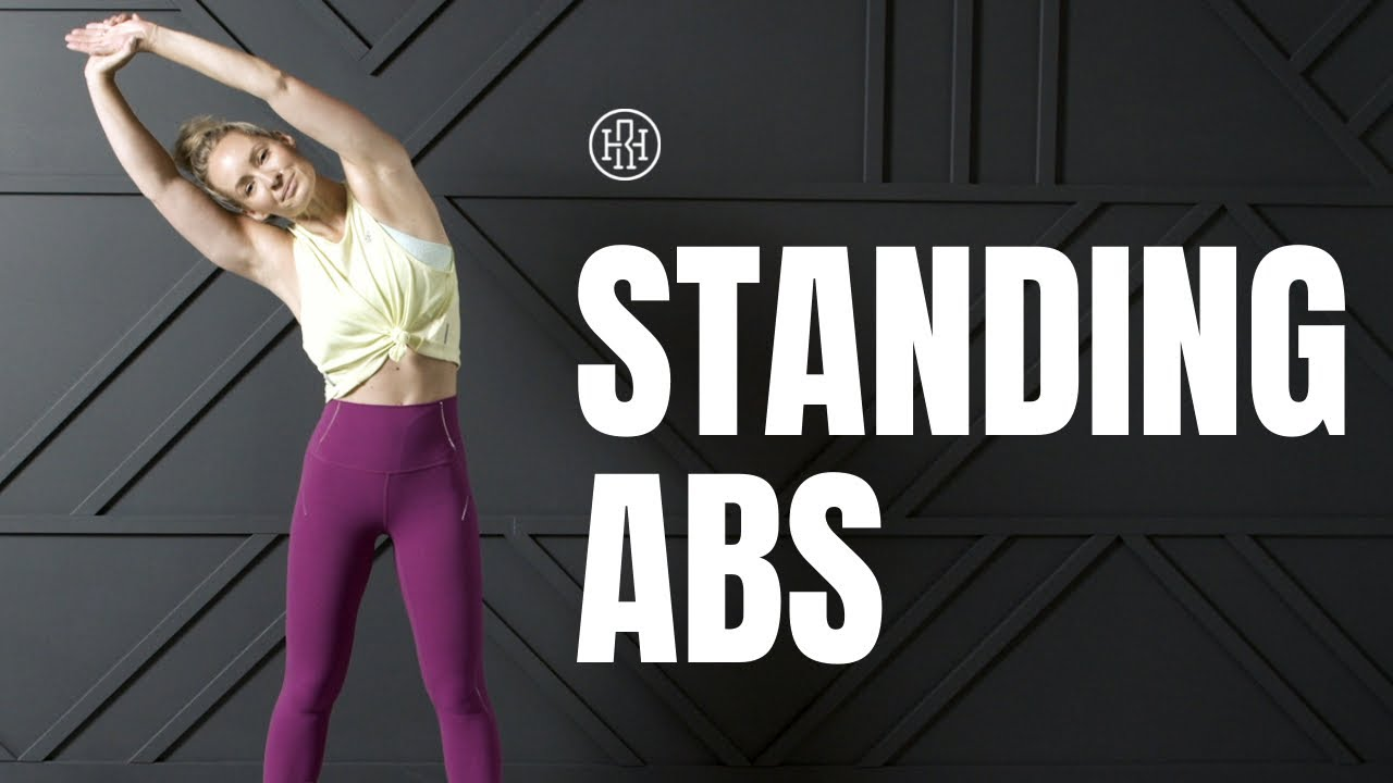 Six Pack Standing Abs Workout