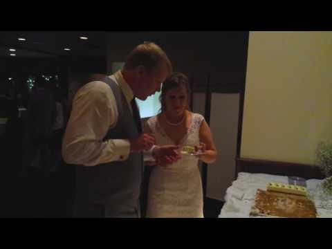 Justin & Katie: Cutting the Cake