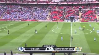 Chelsea v Manchester City FA Cup 14-04-2013 Highlights