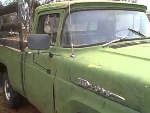 1960 Ford F 250 4x4 For Sale On Missoula Montana Craigslist Video 5