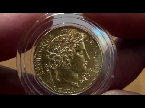 1849 France Gold 20 Francs Early Head Ceres