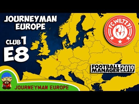 FM19 Journeyman - C1 EP8 - FC Wiltz 71 Luxembourg - A Football Manager 2019 Story