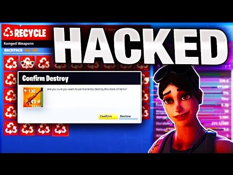 I got HACKED on Fortnite Save the World!