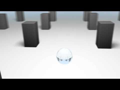 Cinema 4D - Refraction variation test animation