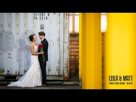 Trinity Buoy Wharf Wedding - Leila & Matt's London Wedding