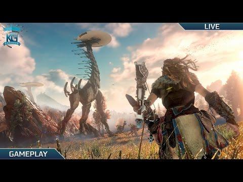 Horizon Zero Dawn Hard Mode PS4 Gameplay! | The Journey Begins! | 1080p!
