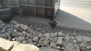 Big Accident in Ring Road Kathmandu - कलंकी रिङ्गरोडमा भएको ट्रक दुर्घटना