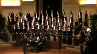 Baylor A Cappella Choir Tour 2011 - Come Thou Fount