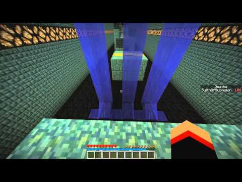 Minecraft Lava And Slime Parkour