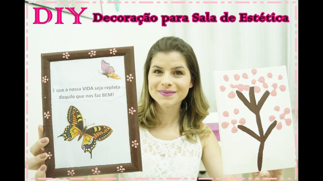 Armario Branco De Cozinha ~ DIY Decoraç u00e3o para Sala de Estética u2665 Beauty Secrets