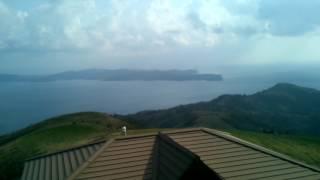 隠岐諸島の知夫里島にある赤ハゲ山展望台からの360度動画