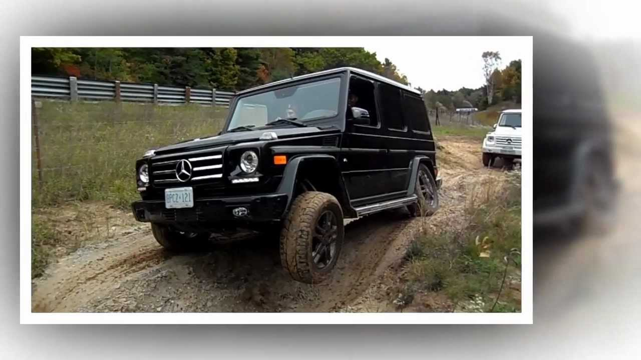 Mercedes benz g class off road trail youtube for Mercedes benz g class off road