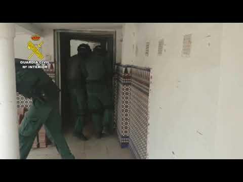 "Operación ""Dimantle"" Guardia Civil campo Gibraltar Clan de los Castaña"