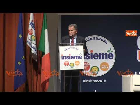 """Prodi vota per la conferma di Gentiloni: """"Con lui l'Italia è più forte"""""""