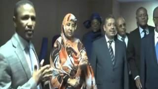 تغطية القناة الوطنية الموريتانية الاستقبال وفد حزب الاستقلال