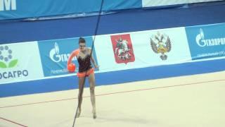 Serniute Neda Litva ball Gazprom Cup Grand Prix 2012