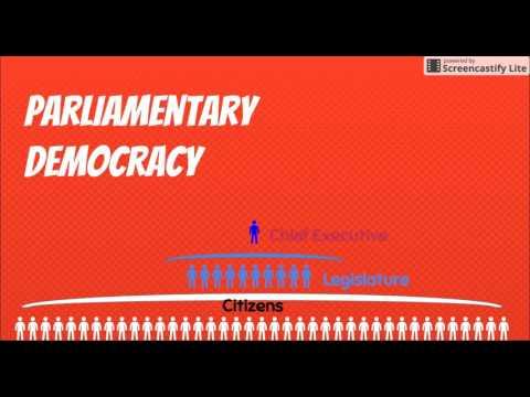 Presidential v  Parliamentary Democracies