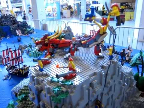 Legoworld 2010 Copenhagen Volcano Wink