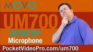 Best Podcasting Mic - Movo UM700 Review - Ray The Video Guy