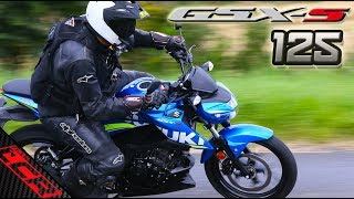 Suzuki GSX-S 125 Ride Review | Epic Fun Motorcycle!