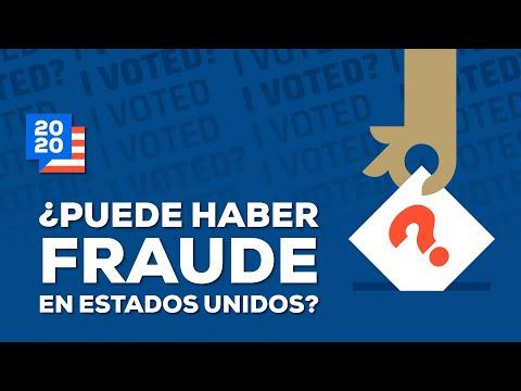¿Puede haber fraude electoral en Estados Unidos?