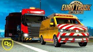« Riesen-Kessel bei Nacht! » - Euro Truck Simulator 2 Schwerlast DLC #2 - Daniel Gaming