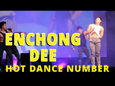 Enchong Dee performs a HOT dance number