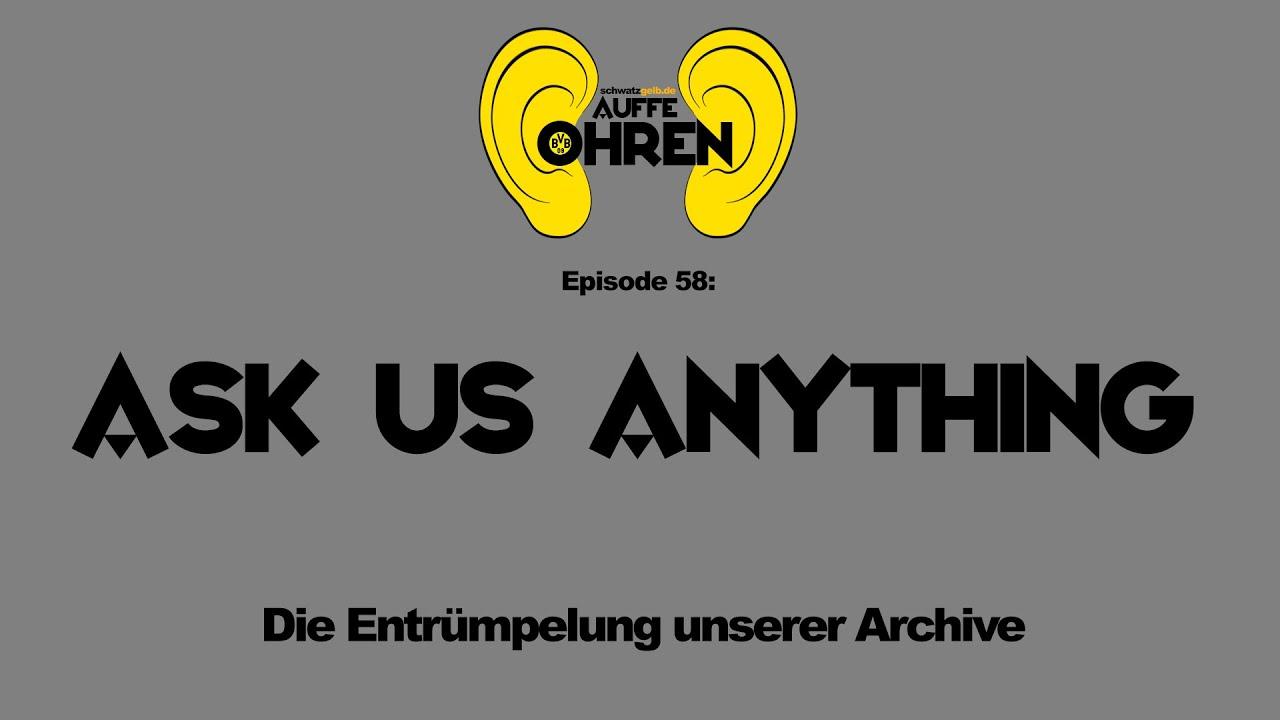 Auffe Ohren #58: Ask us anything | BVB-Podcast von schwatzgelb.de