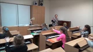 КДМШ №33 урок сольфеджіо №7. Учні 2 класу