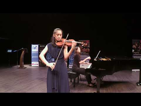 Lee Yan Xing - Second Prize, Young Artiste Category, Bruch Concerto in G minor, 3rd Movement