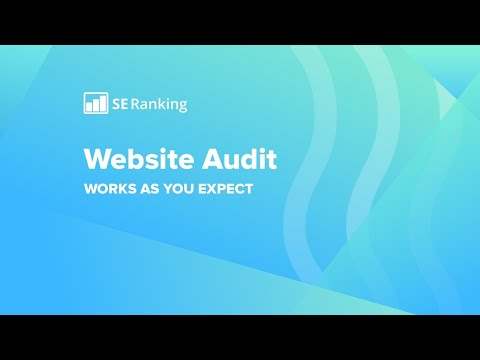 SE Ranking Website audit