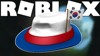 [FREE ITEM] CARA MENDAPATKAN INTERNATIONAL FEDORA - SOUTH KOREA DI ROBLOX