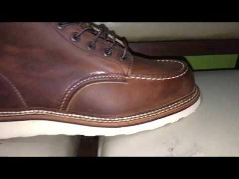 A quick look at Redwing / Red wing 1907 Boots