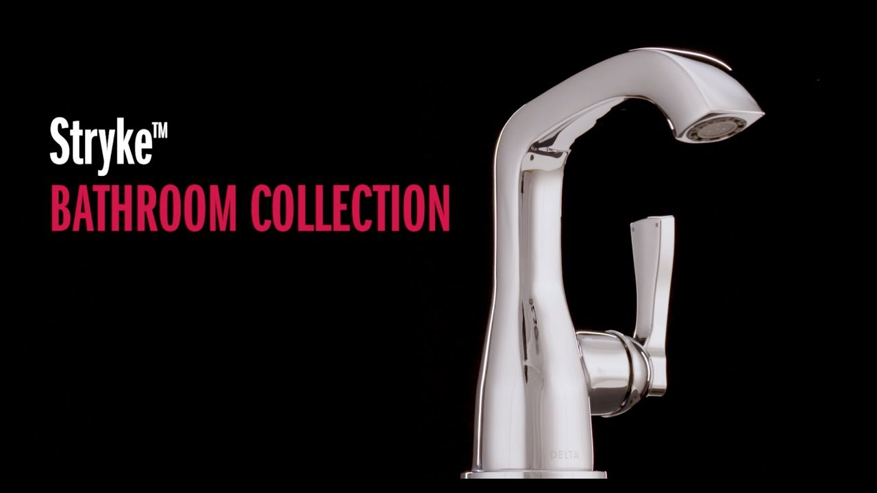 stryke bathroom collection faucets
