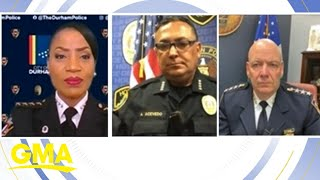 3 of America's top police chiefs react to protests l GMA