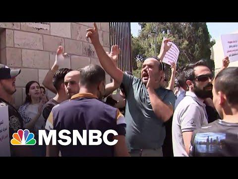 Secretary Blinken Travels To Egypt, Jordan Amid Palestinian Protests