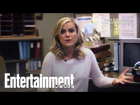 Parks And Recreation: Amy Poehler Explains The Show In 30 Seconds | Entertainment Weekly