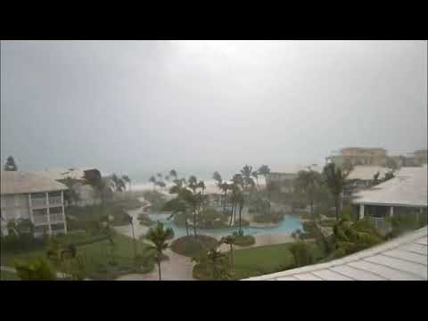 LIVE IMAGES  Hurricane Irma is bearing down on Turks and Caicos  These are live images, courtesy of