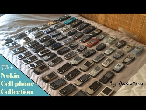 Nokia cell phone collection. From 90s to 2014