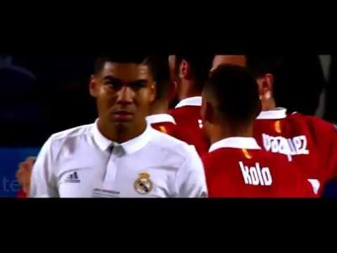Final Piala Super Eropa 2016 - Real Madrid vs Sevilla 3-2