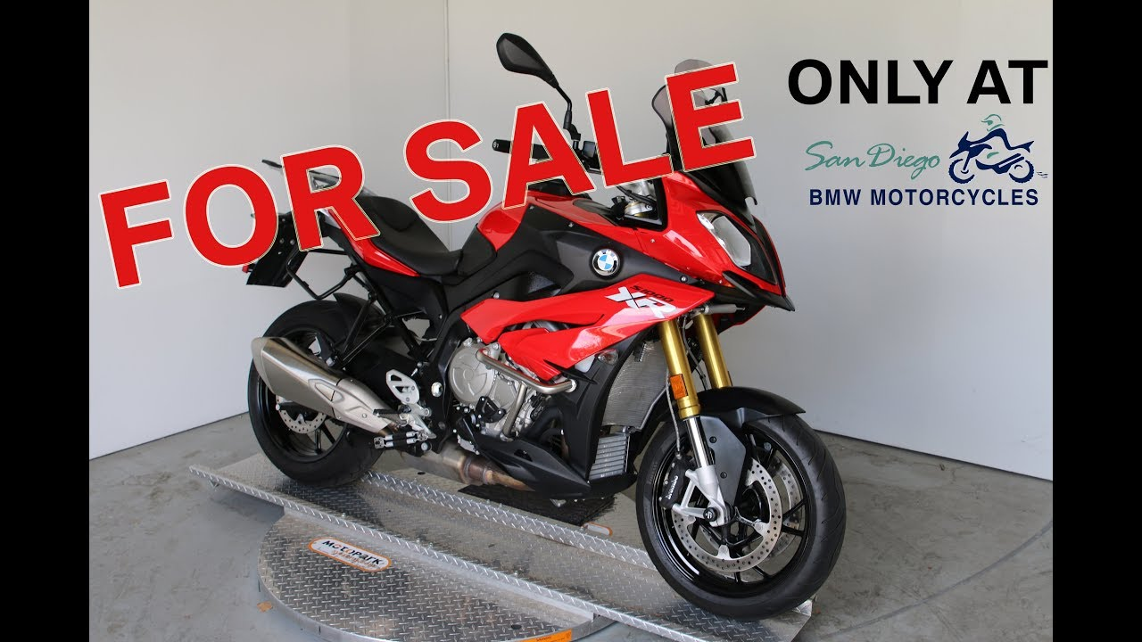 2016 bmw s1000xr for sale at san diego bmw motorcycles! - youtube