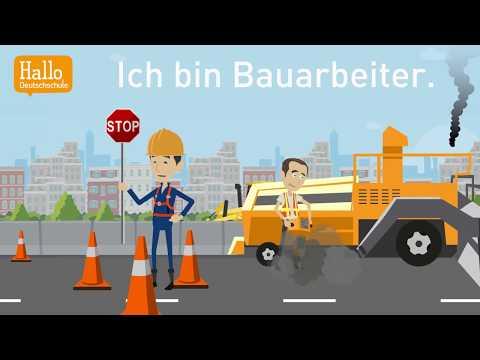 Deutsch Lernen Mit Dialogen / Lektion 16 / Als Was Arbeitest Du? / Was Ist Dein Beruf?