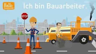 Deutsch lernen mit Dialogen / Lektion 16 / Wortschatz Arbeit und Beruf / Modalverb müssen