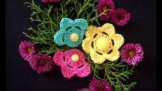 CROCHE FLORES PASSO A PASSO - YOUTUBE