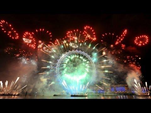 Thế giới đón Năm mới 2013