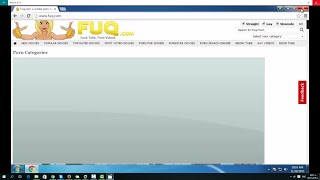 How To Remove Fuq.com Virus Redirect Hijacker Chrome, Firefox