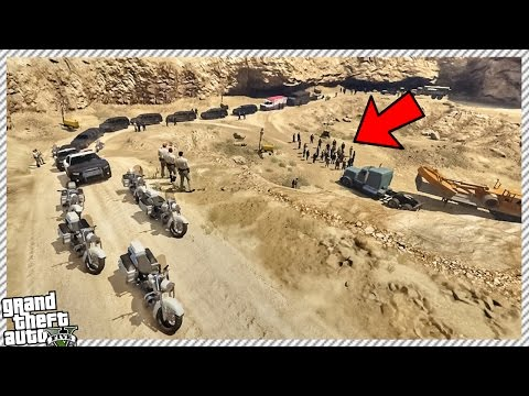 ATTACKING SECRET LOS SANTOS PRESIDENTS MEETING! | 50+ BODYGUARDS