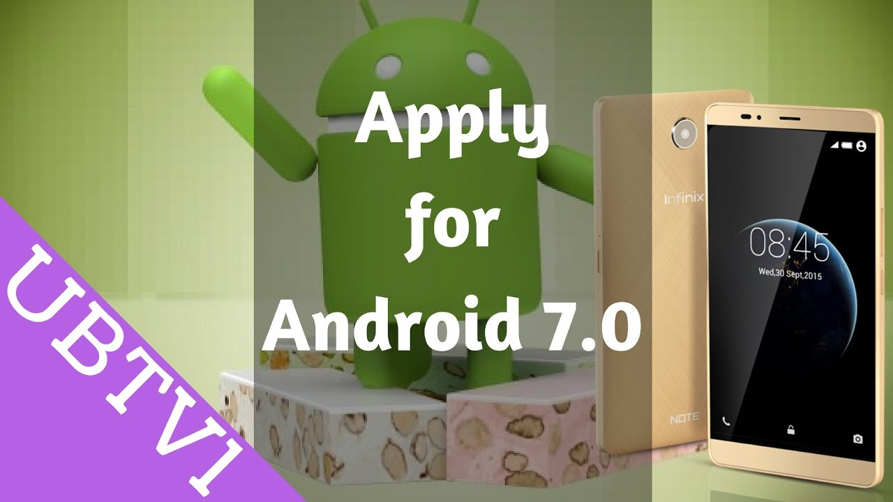 application pour android 7