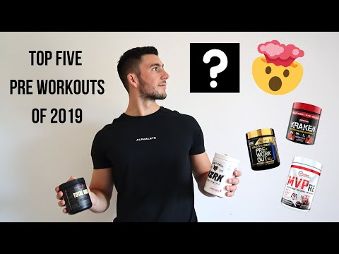 TOP 5 PRE WORKOUT SUPPLEMENTS 2019 | HONEST REVIEW